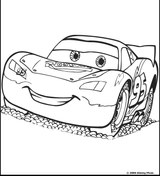 imprimer le coloriage cars numro 412967