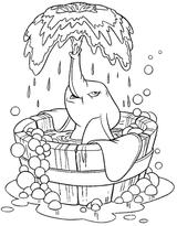 Imprimer le coloriage : Dumbo, numéro 15462