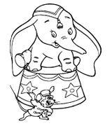 Imprimer le coloriage : Dumbo, numéro 2389