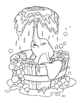 Imprimer le coloriage : Dumbo, numéro 5769