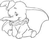 Imprimer le coloriage : Dumbo, numéro 68b6d0cb
