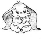 Imprimer le coloriage : Dumbo, numéro 856bad97