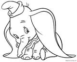 Imprimer le coloriage : Dumbo, numéro acdd982d