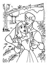 Imprimer le coloriage : La Belle au bois dormant, numéro 28542