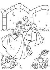 Imprimer le coloriage : La Belle au bois dormant, numéro 28551
