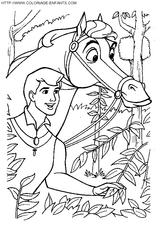 Imprimer le coloriage : La Belle au bois dormant, numéro 28552
