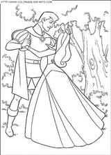 Imprimer le coloriage : La Belle au bois dormant, numéro 29282