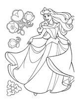 Imprimer le coloriage : La Belle au bois dormant, numéro 47704