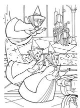 Imprimer le coloriage : La Belle au bois dormant, numéro 65838