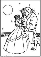 Imprimer le coloriage : La Belle et la Bête, numéro 23672