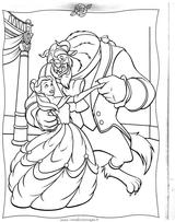 Imprimer le coloriage : La Belle et la Bête, numéro 25604