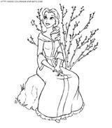 Imprimer le coloriage : La Belle et la Bête, numéro 4958
