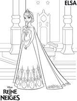 Imprimer le coloriage : La Reine des neiges, numéro 603461