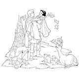 Imprimer le coloriage : La Reine des neiges, numéro 603477