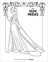 Imprimer le coloriage : La Reine des neiges, numéro 61426e79