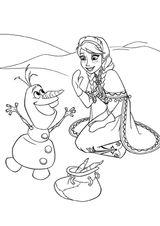 Imprimer le coloriage : La Reine des neiges, numéro 671596