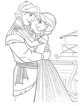 Imprimer le coloriage : La Reine des neiges, numéro 671598