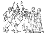 Imprimer le coloriage : La Reine des neiges, numéro 671600