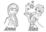 Imprimer le coloriage : La Reine des neiges, numéro 671617