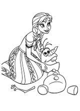 Imprimer le coloriage : La Reine des neiges, numéro 671618