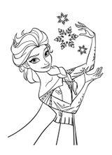 Imprimer le coloriage : La Reine des neiges, numéro 677763