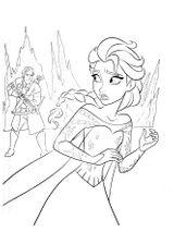 Imprimer le coloriage : La Reine des neiges, numéro 677772