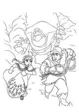 Imprimer le coloriage : La Reine des neiges, numéro 758804