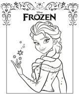Imprimer le coloriage : La Reine des neiges, numéro ce7d3d13