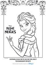 Imprimer le coloriage : La Reine des neiges, numéro cee28100