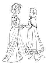 Imprimer le coloriage : La Reine des neiges, numéro d0aacd7