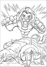 Imprimer le coloriage : Le Roi Lion numéro 17186