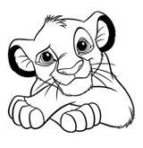 Imprimer le coloriage : Le Roi Lion numéro 3242