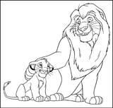 Imprimer le coloriage : Le Roi Lion numéro 3249