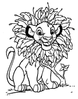 Imprimer le coloriage : Le Roi Lion numéro 826