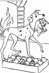 Imprimer le coloriage : Les 101 Dalmatiens, numéro 15392