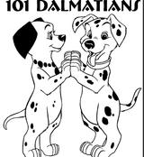 Imprimer le coloriage : Les 101 Dalmatiens, numéro 195777