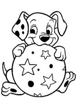 Imprimer le coloriage : Les 101 Dalmatiens, numéro 2327
