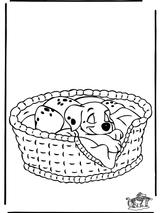 Imprimer le coloriage : Les 101 Dalmatiens, numéro 2328
