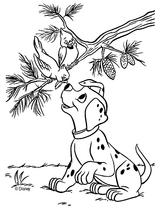 Imprimer le coloriage : Les 101 Dalmatiens, numéro 2330