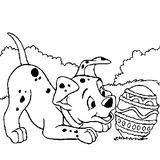 Imprimer le coloriage : Les 101 Dalmatiens, numéro 2344