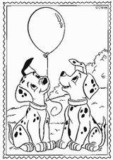 Imprimer le coloriage : Les 101 Dalmatiens, numéro 2351