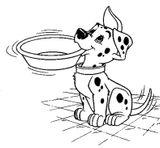 Imprimer le coloriage : Les 101 Dalmatiens, numéro 307505