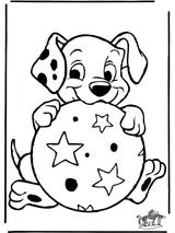 Imprimer le coloriage : Les 101 Dalmatiens, numéro 6463