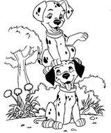Imprimer le coloriage : Les 101 Dalmatiens, numéro 672925