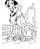 Imprimer le coloriage : Les 101 Dalmatiens, numéro 7afb87e0