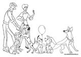 Imprimer le coloriage : Les 101 Dalmatiens, numéro 9163