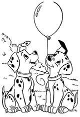 Imprimer le coloriage : Les 101 Dalmatiens, numéro 9a9148a4