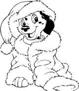 Imprimer le coloriage : Les 101 Dalmatiens, numéro afbd522f
