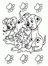 Imprimer le coloriage : Les 101 Dalmatiens, numéro cd439a06