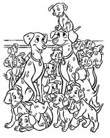 Imprimer le coloriage : Les Aristochats, numéro 2461